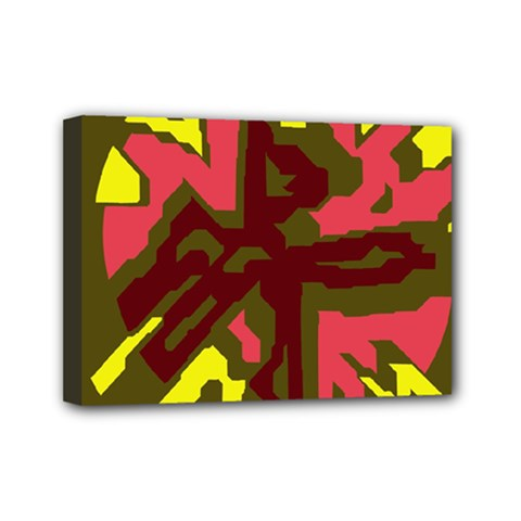 Abstraction Mini Canvas 7  x 5
