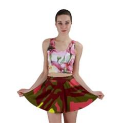 Abstraction Mini Skirt