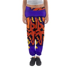 Orange Ball Women s Jogger Sweatpants