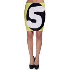Number five Bodycon Skirt
