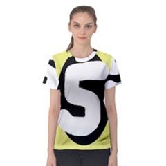 Number five Women s Sport Mesh Tee