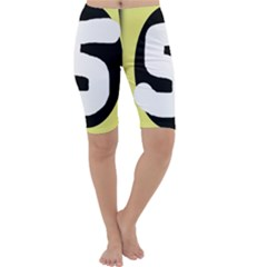 Number five Cropped Leggings