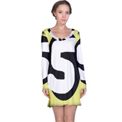 Number five Long Sleeve Nightdress