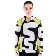 Number five Women s Zipper Hoodie