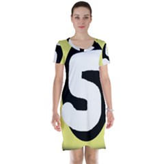 Number five Short Sleeve Nightdress