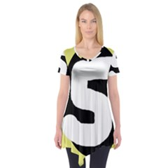 Number five Short Sleeve Tunic