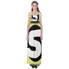 Number Five Empire Waist Maxi Dress