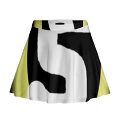 Number five Mini Flare Skirt