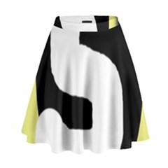 Number five High Waist Skirt