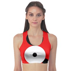 Number eight Sports Bra