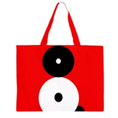 Number eight Large Tote Bag