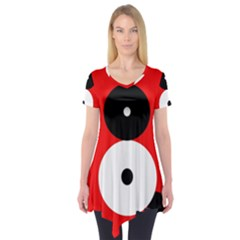 Number eight Short Sleeve Tunic
