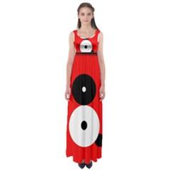 Number eight Empire Waist Maxi Dress