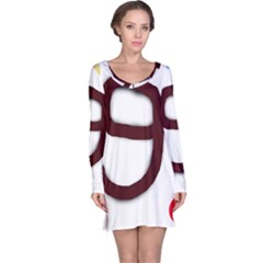 Number nine Long Sleeve Nightdress