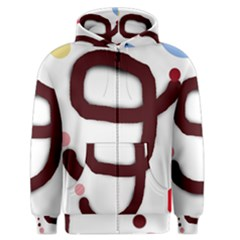 Number nine Men s Zipper Hoodie