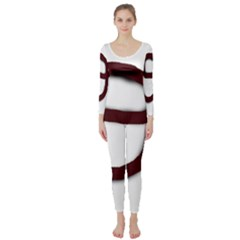 Number nine Long Sleeve Catsuit