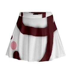 Number Nine Mini Flare Skirt