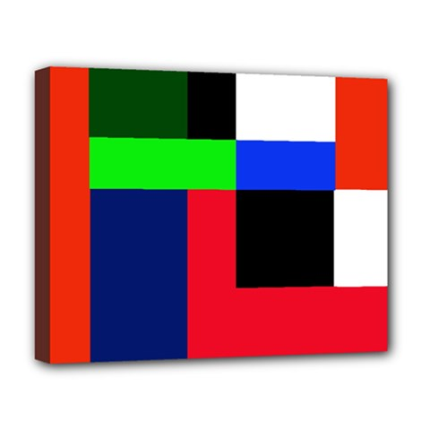 Colorful abstraction Deluxe Canvas 20  x 16
