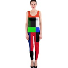 Colorful abstraction OnePiece Catsuit