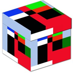 Colorful abstraction Storage Stool 12