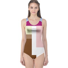 Colorful abstraction One Piece Swimsuit
