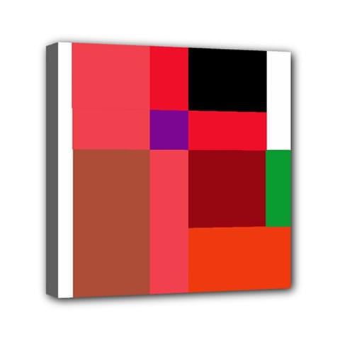 Colorful abstraction Mini Canvas 6  x 6