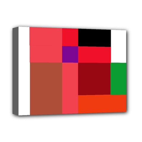 Colorful abstraction Deluxe Canvas 16  x 12