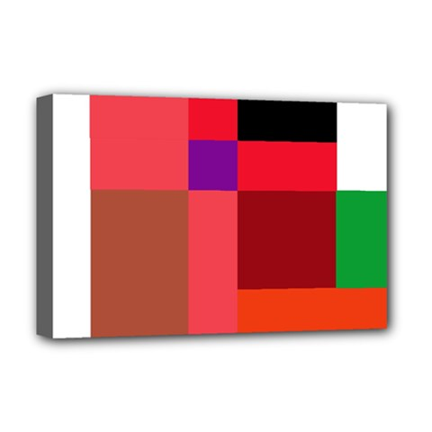 Colorful abstraction Deluxe Canvas 18  x 12