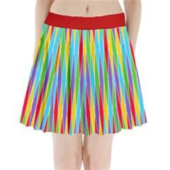 Harlequine BrightPastel Pleated Mini Skirt Pleated Mini Mesh Skirt