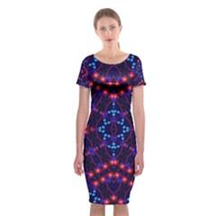 K,uku (6)i Classic Short Sleeve Midi Dress