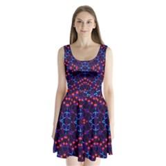 K,uku (6)i Split Back Mini Dress
