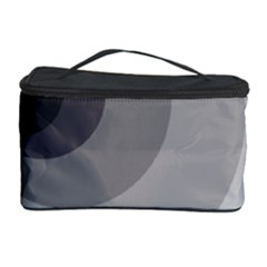 Gray abstraction Cosmetic Storage Case