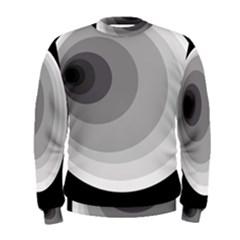 Gray abstraction Men s Sweatshirt