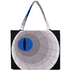 Blue eye Mini Tote Bag