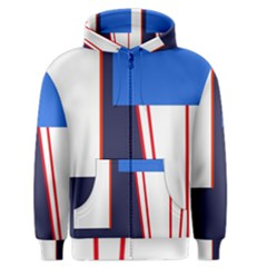 Decorative abstraction Men s Zipper Hoodie