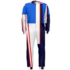 Decorative abstraction OnePiece Jumpsuit (Men)
