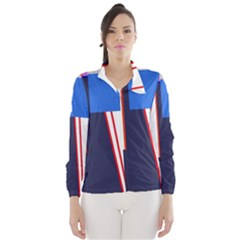 Decorative abstraction Wind Breaker (Women)