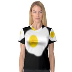 Egg Women s V-Neck Sport Mesh Tee