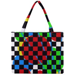 colorful abstraction Mini Tote Bag