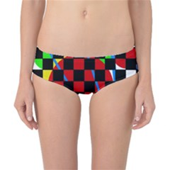 colorful abstraction Classic Bikini Bottoms