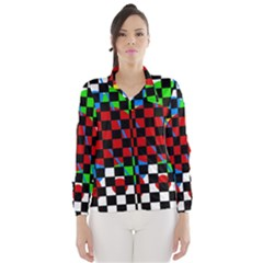 colorful abstraction Wind Breaker (Women)
