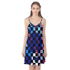 Blue abstraction Camis Nightgown