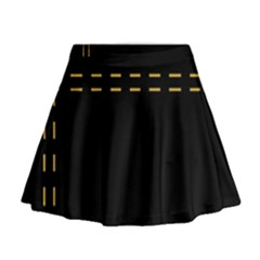 Elegant Design Mini Flare Skirt
