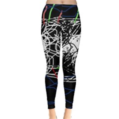 Neon fish Leggings