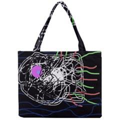 Neon fish Mini Tote Bag