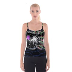 Neon fish Spaghetti Strap Top