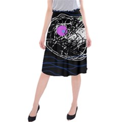Neon fish Midi Beach Skirt
