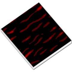 Red and black Small Memo Pads