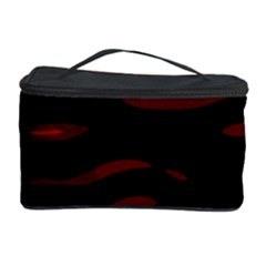Red and black Cosmetic Storage Case