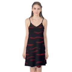 Red and black Camis Nightgown